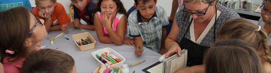 Ateliers créatifs autour du livre