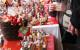 Un marché de Noël chaleureux