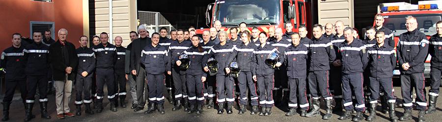 Sapeurs-pompiers. La caserne à l'heure de la Sainte-Barbe