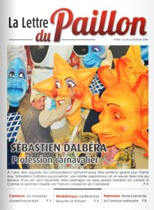 Lettre du Paillon