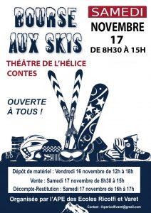 Bourse aux skis @ théâtre de l'hélice