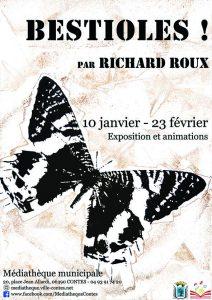 Vernissage exposition Richard Roux @ Médiathèque